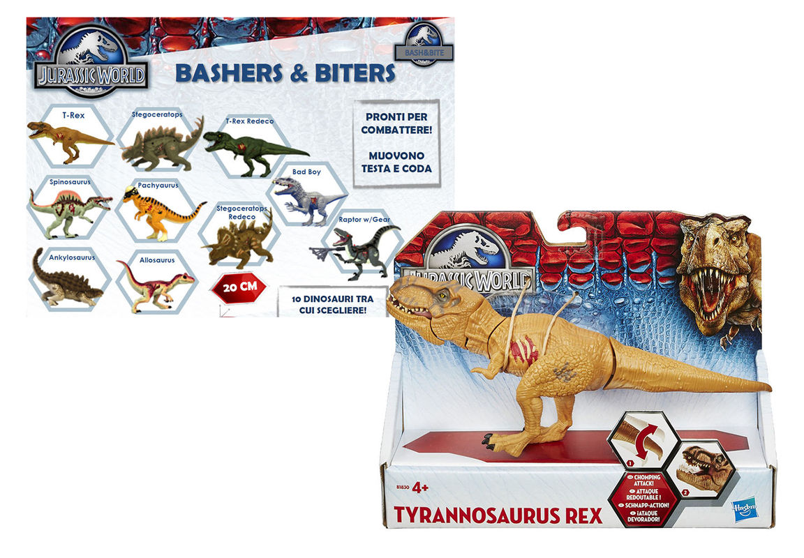 Боевой динозавр, Мир Юрского периода
