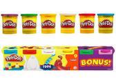 Игровой набор - пластилин 4 плюс 2 в классических цветах от Hasbro. Play-Doh
