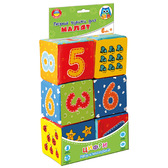 Игрушка мягконабивная Набор кубиков. Цифры. (укр.), Vladi Toys от Vladi Toys (ВладиТойс)