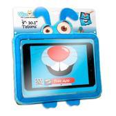 Мягкая игрушка КРОЛИК ХОППИ, чехол для планшетов 9 – 10,1 дюймов, синяя, (в блистере) от Wise-Pet