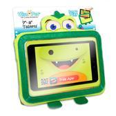 Мягкая игрушка КРОКОДИЛ РОККИ с прозрачным карманом, чехол для планшетов 7-8 дюймов (в блистере) от Wise-Pet