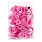 Пиксели Big 80 шт, розовый, Upixel.