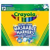 12 смываемых широких фломастеров, 3+ от Crayola (Крайола)
