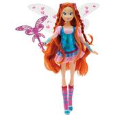 Кукла Winx Блум с магическим скипетром.