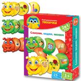 Развивающая игра 'Слышим, видим, нюхаем?' серии Умница. Vladi Toys, русский язык от Vladi Toys (ВладиТойс)