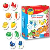 Развивающая игра 'Учим цвета. Кто появился?' серии Умница. Vladi Toys, украинский язык от Vladi Toys (ВладиТойс)