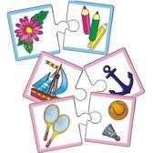 Настольная Мини-игра - Какого цвета? Что к чему? - серии Мои первые игры, украинский язык от Vladi Toys (ВладиТойс)