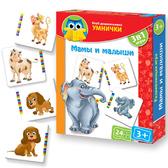 Развивающая игра 'Мама и малыш' серии Умница. Vladi Toys, русский язык от Vladi Toys (ВладиТойс)