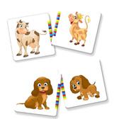 Развивающая игра 'Мама и малыш' серии Умница. Vladi Toys, украинский язык от Vladi Toys (ВладиТойс)