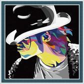 Майкл Джексон в шляпе, 40х50см
