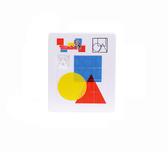 Пятнашки - геометрические фигуры, 10 ? 12 см, Games & more, геометрические фигуры от Games & more