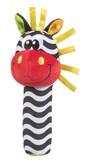 Игрушка-пищалка Зебра, PLAYGRO от PLAYGRO