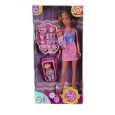 Штеффи - Няня, в фиолетово-розовом наряде, кукла, Steffi & Evi Love, в фиолетово-розовом наряде от Steffi & Evi Love(Штеффи и Эви Лав)