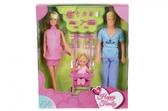 Штеффи - Счастливая семья, набор кукол, Steffi & Evi Love от Steffi & Evi Love(Штеффи и Эви Лав)