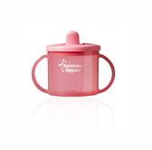 Первая чашка с носиком, розовая, 190 мл., Tommee Tippee., розовая от Tommee Tippee(Томми Типпи)
