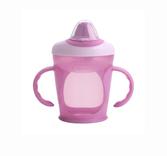 Чашка-непроливайка розовая (260 мл.), Tommee Tippee., розовая от Tommee Tippee(Томми Типпи)