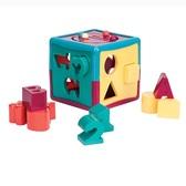 Развивающая игрушка-сортер - УМНЫЙ КУБ (12 форм) от Battat (Баттат)