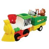 Игровой набор - ПАРОВОЗ ЛИМПОПО (на колесах, свет, звук) от Kiddieland (Киддиленд)