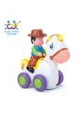 Игрушка Huile Toys Ковбой на веселой лошади (838A) от Huile Toys