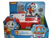Щенячий патруль: спасательный автомобиль с фигуркой, Маршал спасатель NEW от PAW Patrol (Щенячий патруль)