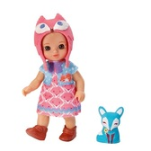 Кукла MINI CHOU CHOU серии Лисички - БЬЮТИ (12 см, с аксессуарами)