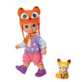 Кукла MINI CHOU CHOU серии Лисички - ЛАККИ (12 см, с аксессуарами)
