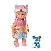 Кукла MINI CHOU CHOU серии Лисички - КЭТТИ (12 см, с аксессуарами)