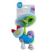 Игрушка-подвеска на прищепке - ДРОЖАЩИЙ КОТИК от Taf Toys (Таф тойс)