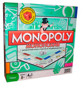Монополия классическая версия, Monopoly на украинском языке от Monopoly Hasbro (Монополия)