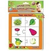 Развивашки в пакете с клапаном (укр. язык), Vladi Toys NEW от Vladi Toys (ВладиТойс)