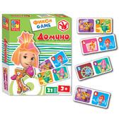 Фиксики, домино (рус. язык), Vladi Toys, русский язык NEW от Vladi Toys (ВладиТойс)