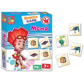 Фиксики, мемо (рус. язык), Vladi Toys, русский язык NEW от Vladi Toys (ВладиТойс)