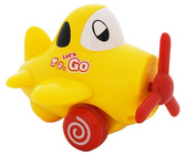 Веселый полет - желтый инерционный самолет. BeBeLino, желтый NEW от BeBeLino (Бебелино)