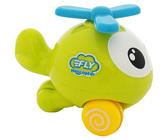 Веселый полет - зеленый инерционный вертолет. BeBeLino, зеленый NEW от BeBeLino (Бебелино)