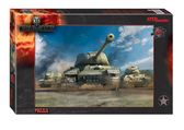 Пазл World of Tanks, 560 эл., Step Puzzle
