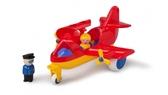 Самолет с двумя фигурками, 30 см, Viking Toys от VIKING TOYS