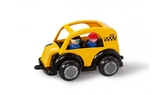 Такси-кеб черно-желтое с двумя фигурками, 25 см, Viking Toys от VIKING TOYS