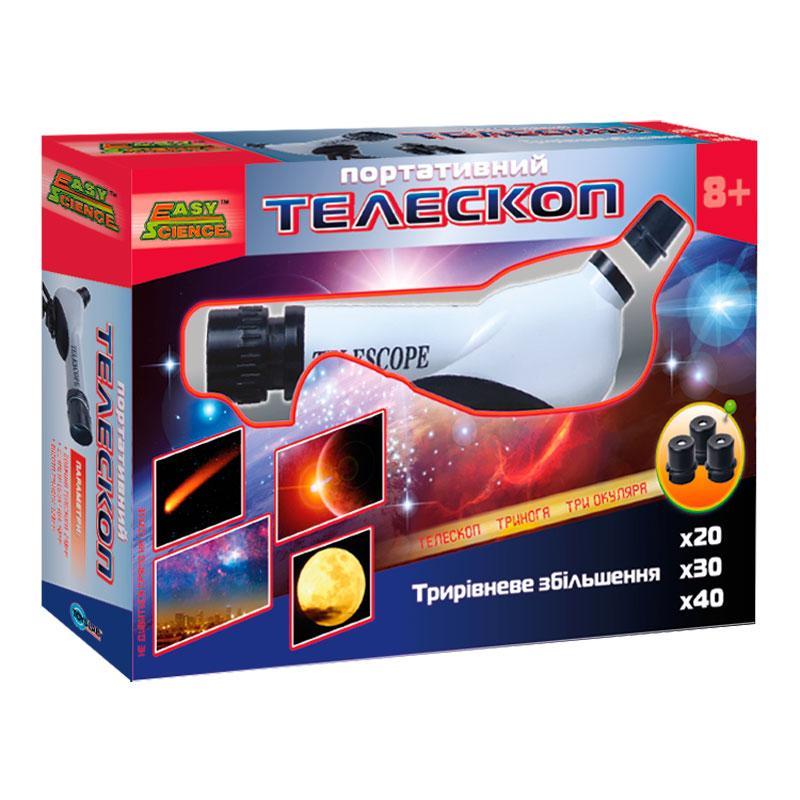 Портативный телескоп, (укр. упаковка), EasyScience