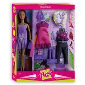 Бутик, набор с куклой 28 см, брюнетка, Ася от Ася