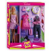 Бутик, набор с куклой 28 см, блондинка, Ася от Ася
