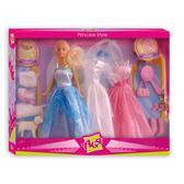 Стиль принцессы, набор с куклой 28 см, блондинка, Ася от Ася