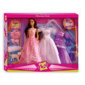 Стиль принцессы, набор с куклой 28 см, брюнетка, Ася от Ася