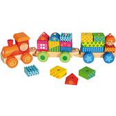 Поезд деревянный с кубиками, BINO NEW от BINO(Бино)