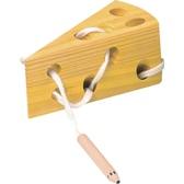 Сыр, развивающая игра-шнуровка, BINO NEW от BINO(Бино)