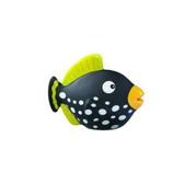 Рыбка черная - игрушка для купания в ванне, Lena, черная NEW от LENA