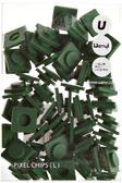 Пиксели Upixel Big - Темно-зеленый , WY - P001I