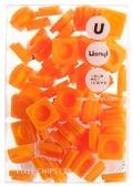 Пиксели Small 60 шт, оранжевые, Upixel.