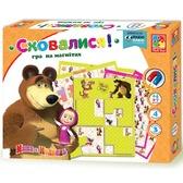 Спрятались - игра на магнитах Маша и Медведь (укр. язык), Vladi Toys, украинский язык NEW от Vladi Toys (ВладиТойс)