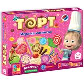 Торт - игра на магнитах (рус. язык), Vladi Toys NEW от Vladi Toys (ВладиТойс)