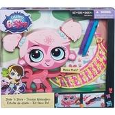 Укрась зверюшку, набор, Littlest Pet Shop, розовый от Littlest Pet Shop Hasbro (Литлест Пет Шоп Хасбро)
